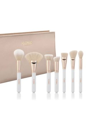 ICONIC London Complete Face Set Cream & Gold 1